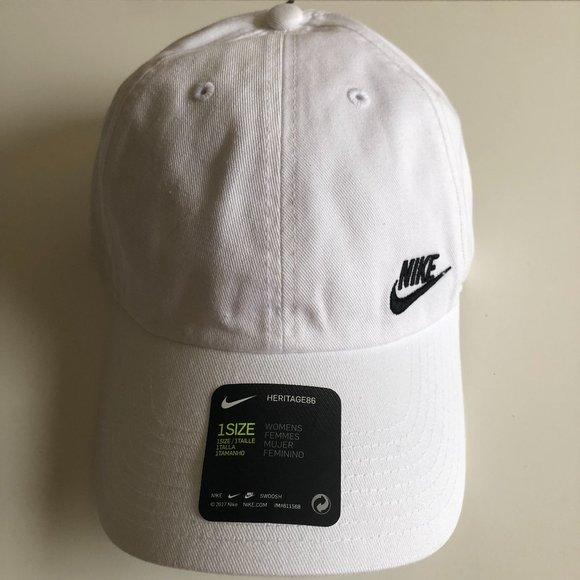 Nike White Baseball Cap